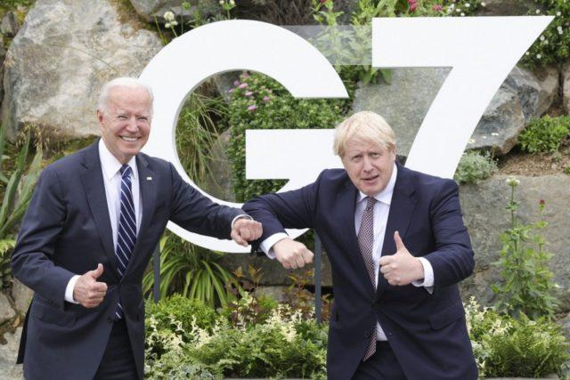 Pandemic, global warming take center stage at G7 meeting