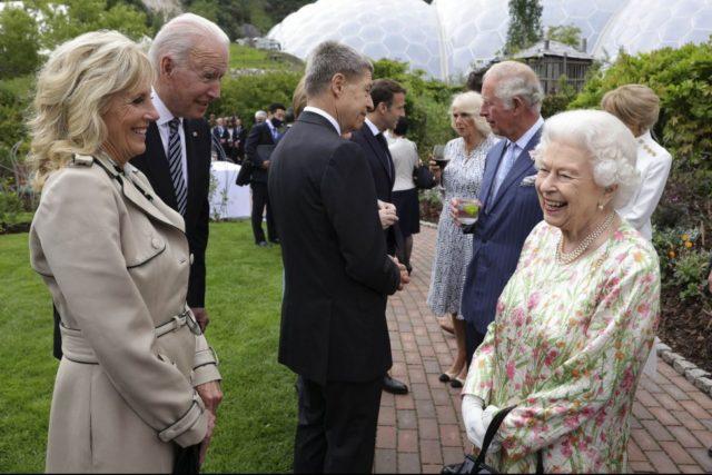 Biden meets with 'extremely gracious' Queen Elizabeth II in Windsor Castle