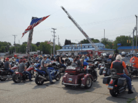 WATCH: Bikers Gather for Back the Blue Rally in Pennsylvania