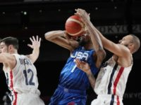 US Men Lose to France 83-76, First Olympic Basketball Loss Since 2004