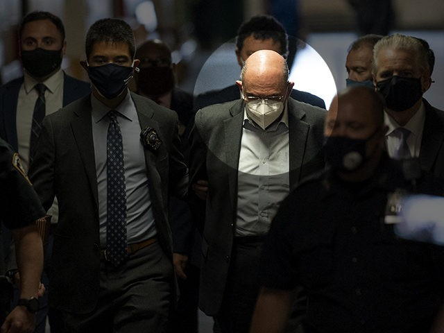 Allen Weisselberg arrives to Manhattan criminal court, Thursday, July 1, 2021, in New York. Weisselberg, Trump Organization CFO, was arraigned a day after a grand jury returned an indictment charging him and Trump's company with tax crimes. Trump himself was not charged. (AP Photo/John Minchillo)