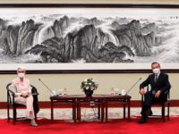 China Accuses U.S. of Creating 'Imaginary Enemy' During Wendy Sherman Visit