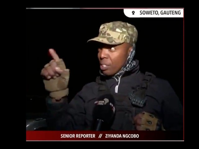 Armed Civilian in South Africa