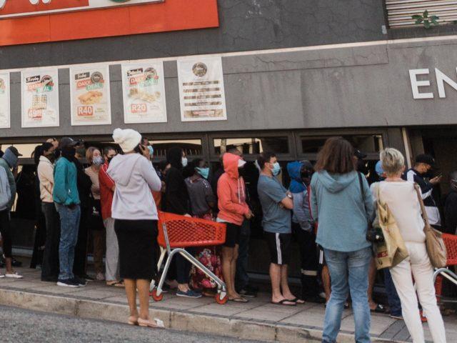 Bread line Durban (Rajesh Jantilal / AFP / Getty)