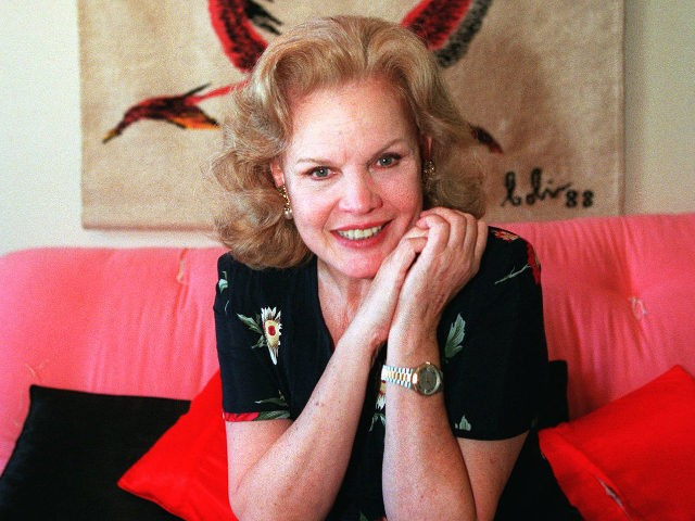"""ADVANCE FOR WEEKEND EDITIONS, SEPT. 26-28--Actress Carroll Baker poses for a photo at her apartment Aug. 27, 1997, in Los Angeles. Baker, the classy blonde in the films """"Giant"""" and """"Baby Doll,"""" has a new role at age 66 in the Michael Douglas-Sean Penn thriller """"The Game."""" (AP Photo/ Damian …"""