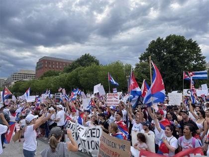 Cuba Communism Protest