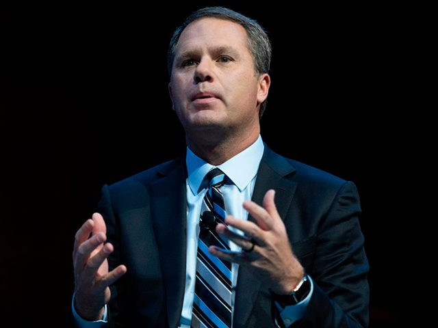 Walmart CEO Doug McMillon speaks during the Business Roundtable CEO Innovation Summit in Washington, DC on December 6, 2018. (Photo by Jim WATSON / AFP) (Photo by JIM WATSON/AFP via Getty Images)