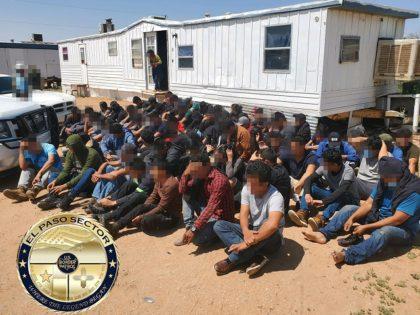 Human smuggling stash house found in the El Paso Sector. (File Photo: U.S. Border Patrol/El Paso Sector)