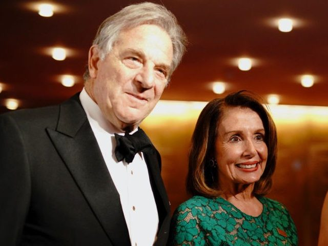 NEW YORK, NEW YORK - APRIL 23: Paul Pelosi and Nancy Pelosi attend the TIME 100 Gala 2019 Cocktails at Jazz at Lincoln Center on April 23, 2019 in New York City. (Photo by Jemal Countess/Getty Images for TIME)