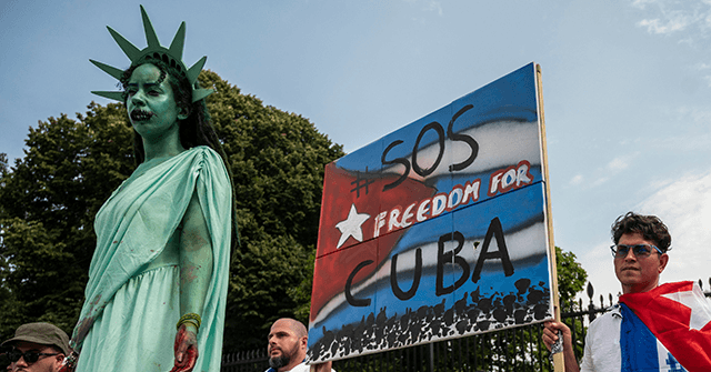 Watch: 'I Voted for You' – Cuban Americans Turn on Biden