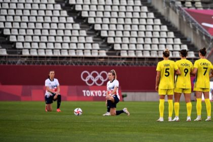 Knee-Taking British Olympic Football Team 'Devastated' After Being Knocked Out of Competition