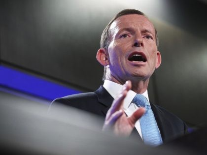 CANBERRA, AUSTRALIA - JANUARY 31: Opposition leader Tony Abbott during his address at the National Press Club on January 31, 2013 in Canberra, Australia. Prime Minister Gillard yesterday set Australia's election date for September 14, making the campaign period the longest in Australia's history. Opposition leader Tony Abbott used his …