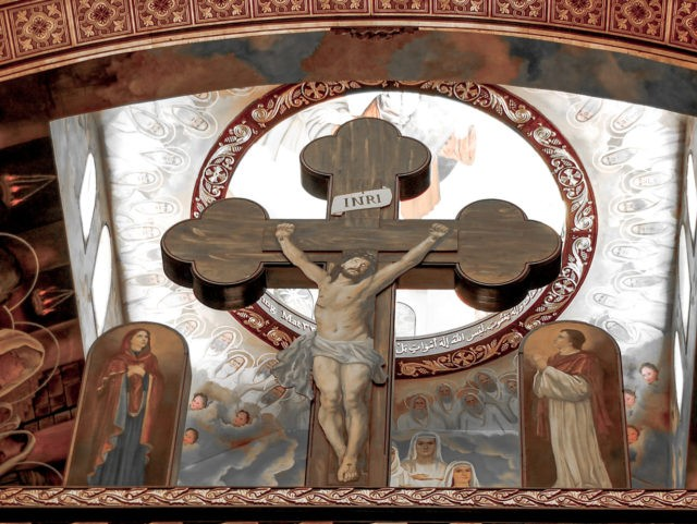 Old Crucifix in Coptic Church