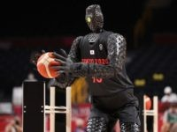 WATCH: Basketball Robot Hits 3-Pointer, Half Court Shots During US-France Halftime