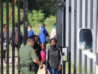 EXCLUSIVE VIDEO: Border Patrol Opens Gates to Hundreds of Migrants