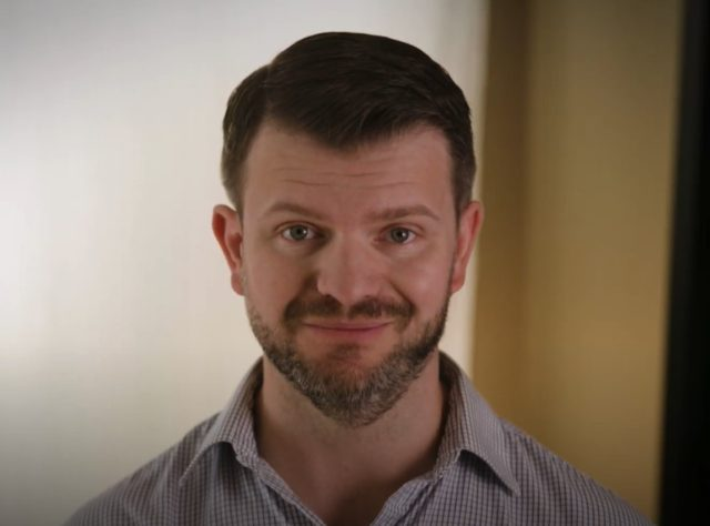 Jesse Jensen, running for Congress in WA-08. Screenshot via YouTube.
