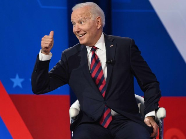 Joe Biden town hall (Saul Loeb / AFP / Getty)