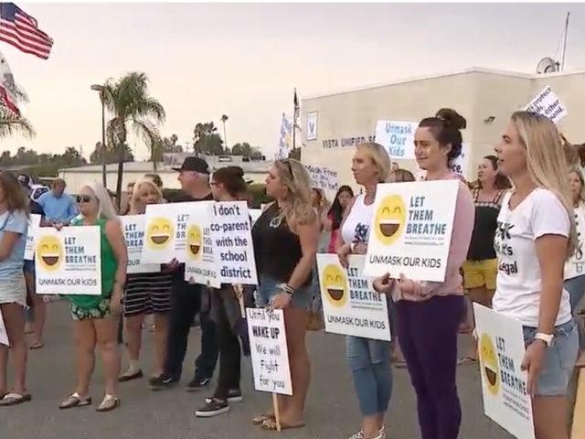 Let Them Breathe Parents File Lawsuit and Protest