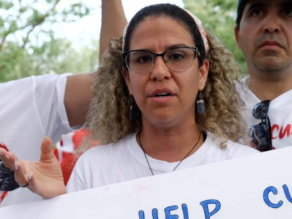Cuban protester speaks to Breitbart News, July 26, 2021
