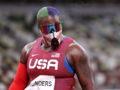 Team USA Shot Put Star 'The Hulk' Wears Joker Mask at Tokyo Olympics