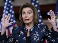 Nancy Pelosi Not Committed to Passing Unwritten Senate Infrastructure Bill