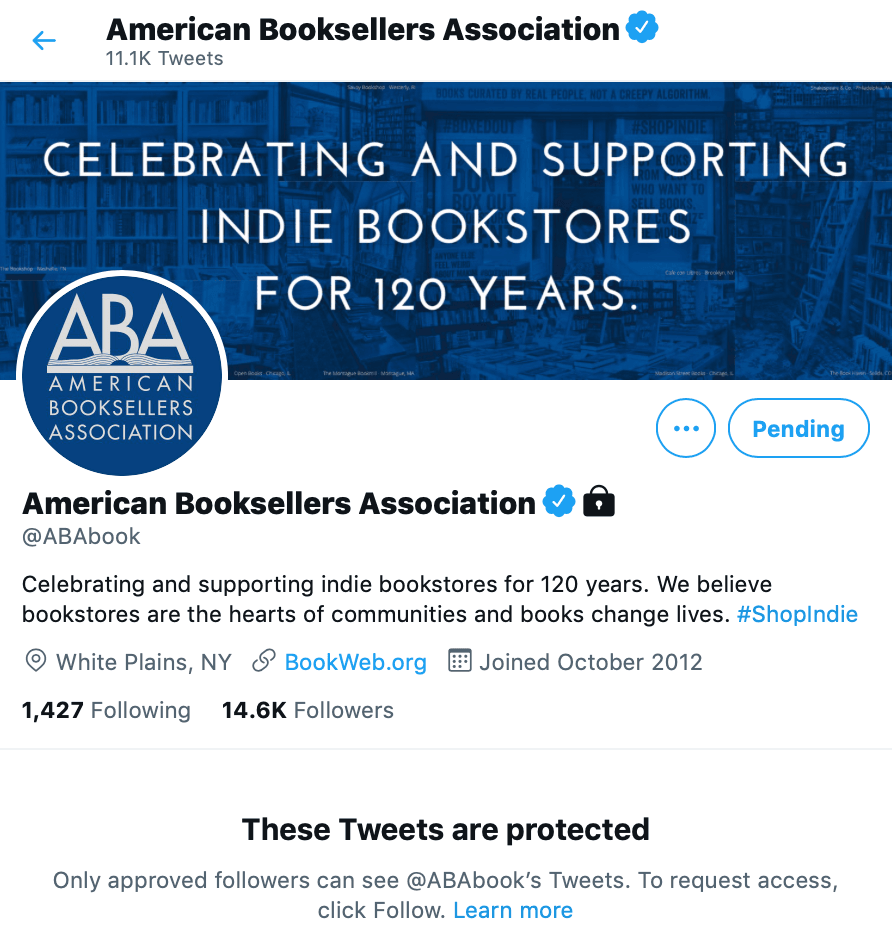 ABA protected (Twitter)
