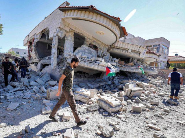 Shalabi mansion (Jaafar Ashtiyeh / AFP / Getty)