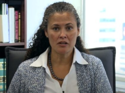 Kelly Speakes-Backman is the Principal Deputy Assistant Secretary for the Office of Energy Efficiency and Renewable Energy (EERE), and Acting Assistant Secretary at the U.S. Department of Energy. (Screenshot via YouTube).