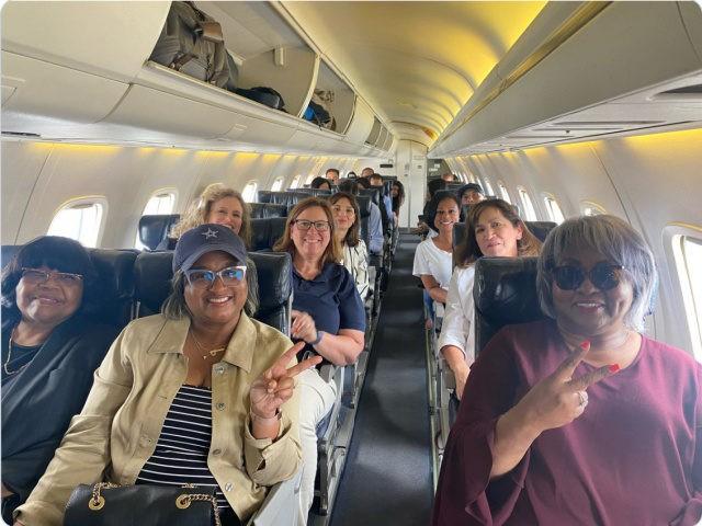 Texas Democrat Lawmakers Escape on a Plane