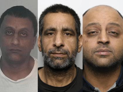 Banaras Hussain, Mohammed Akram and Talish Mahmood Ahmed