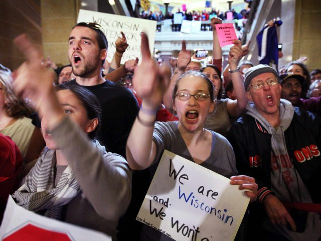WIsconsin occupy (Scott Olson / Getty)