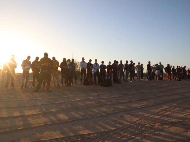 Yuma Sector Border Patrol agents continue to apprehend large migrant groups. (U.S. Border Patrol/Yuma Sector)
