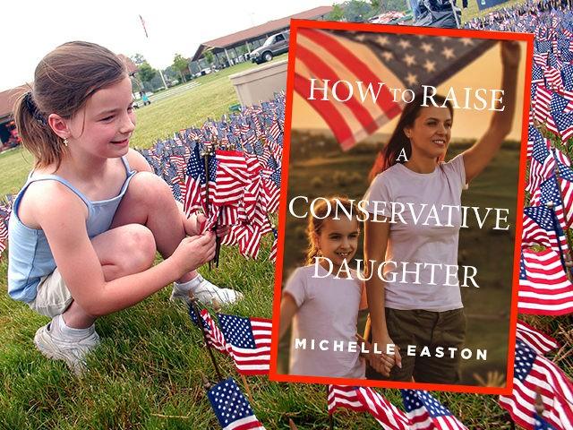 FAIRLESS HILLS, PA - JUNE 13: Reilly Weiser, 7, of Croydon, Pennsylvania places American flags in the ground while setting up the Donald W. Jones Flag Memorial 13, 2003 in Fairless Hills, Pennsylvania. Sixty thousand flags will be placed in the size and shape of the Vietnam Veterans Memorial in …