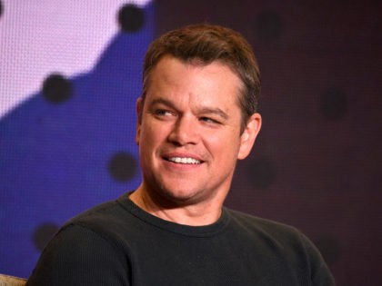 """TORONTO, ON - SEPTEMBER 10: Actor Matt Damon speaks onstage during the """"Downsizing"""" press conference during the 2017 Toronto International Film Festival at TIFF Bell Lightbox on September 10, 2017 in Toronto, Canada. (Photo by Kevin Winter/Getty Images)"""