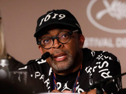 CANNES, FRANCE - JULY 06: Jury president Spike Lee attends the Jury press conference during the 74th annual Cannes Film Festival on July 06, 2021 in Cannes, France. (Photo by EPA/Getty Images)