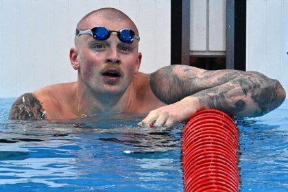 Britain's Adam Peaty looks unbeatable in the 100m breaststroke