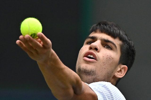 Teen machine: Spain's Carlos Alcaraz reached the Umag final on Saturday