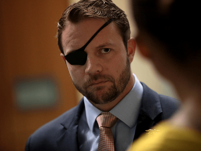 U.S. Congressman-elect Dan Crenshaw speaking with attendees at the 2018 Student Action Summit hosted by Turning Point USA at the Palm Beach County Convention Center in West Palm Beach, Florida.