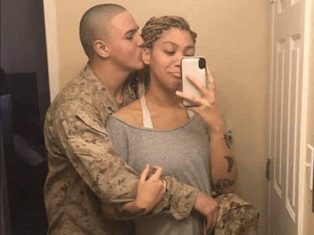Rylee McCollum, a Marine and Sublette County native killed in the Aug. 26 suicide bombing at the airport in Kabul, Afghanistan, with his wife Jiennah Crayton. Roice McCollum, courtesy