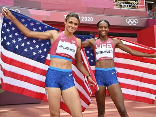 WATCH: Sydney McLaughlin, Dalilah Muhammad Give 'Glory to God' After Taking Gold and Silver in 400m Hurdles
