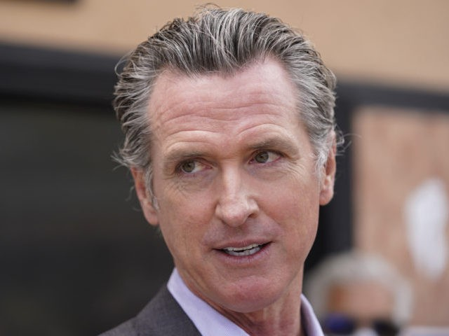 FILE - In this June 3, 2021, file photo California Gov. Gavin Newsom listens to questions during a news conference in San Francisco. Democrats in the state Legislature are trying to alter the state's recall laws in a move that would allow Newsom's election to be held earlier. They are …