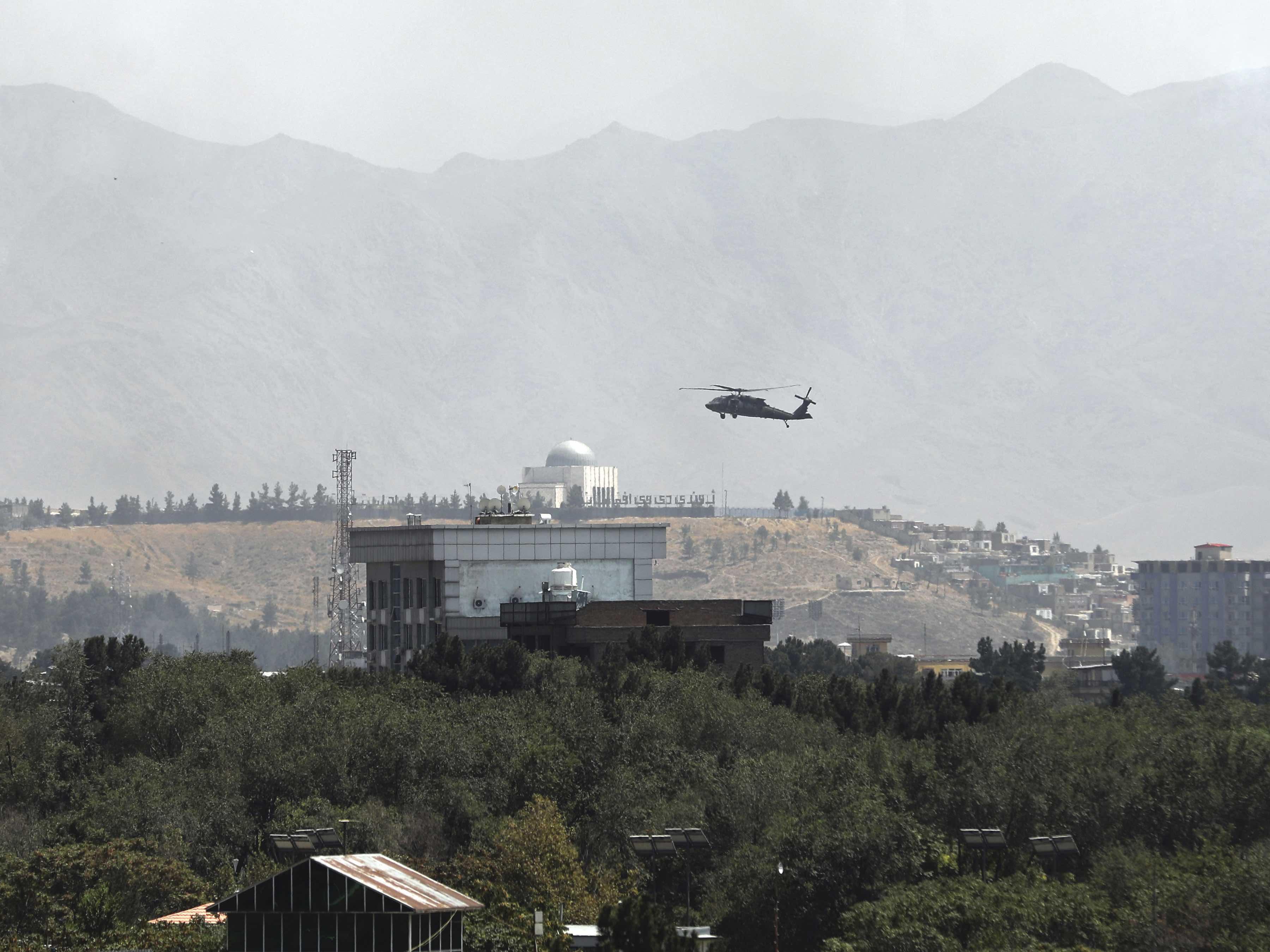 Black Hawk Kabul (Rahmat Gul / Associated Press)