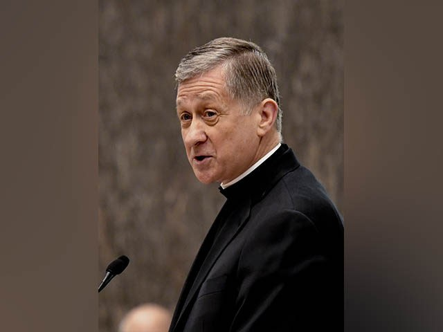 Chicago Archbishop Blase Cupich speaks during the city council meeting on Wednesday, Jan. 25, 2017, in Chicago. He was elevated to the rank of Cardinal in November. (AP Photo/Matt Marton)
