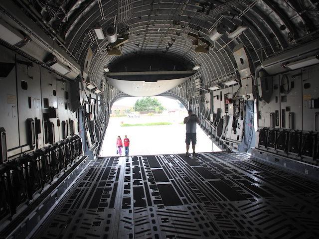 Inside Boeing C-17 Globemaster III