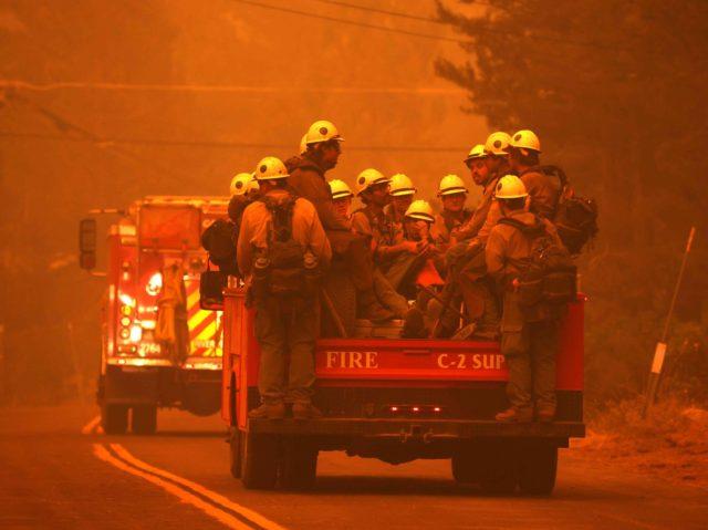 Caldor fire crew (Justin Sullivan / Getty)
