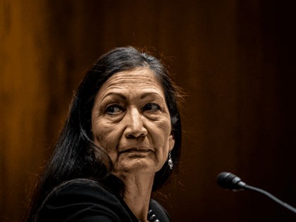 U.S. Secretary of Interior Deb Haaland testifies before the Senate Appropriations Subcommittee on Interior, Environment, and Related Agencies during a hearing to examine the departments proposed budget for the fiscal year 2022 on Capitol Hill on June 16, 2021 in Washington, DC. The new budget proposal from the Biden Administration …