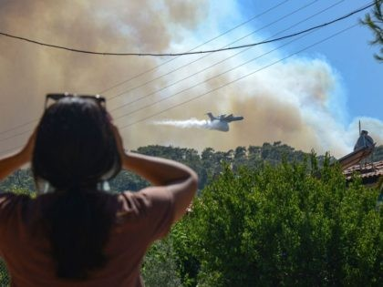 Pictures: EU Lends Water Tanker Planes as Turkish Wildfires Blaze for 6th Day