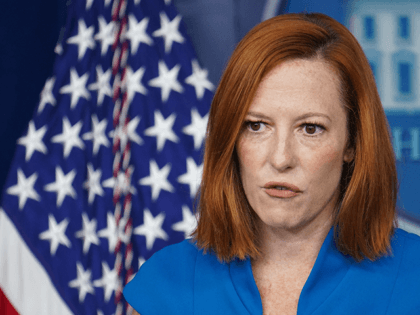 White House Press Secretary Jen Psaki speaks during the daily briefing in the Brady Briefing Room of the White House in Washington, DC on August 11, 2021. (Photo by MANDEL NGAN / AFP) (Photo by MANDEL NGAN/AFP via Getty Images)