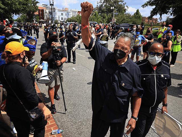 Chaos on Capitol Hill: Rev. Jesse Jackson, Activists Arrested
