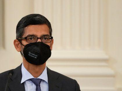Google boss Sundar Pichai is masked up